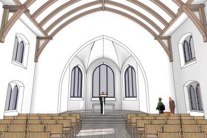 oeldenberger evangelische kirche tiengen renovation